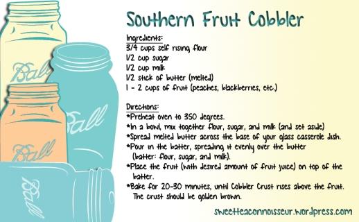 Southern Fruit Cobbler