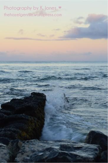 Waikiki Beach Waves by K. Jones ♥