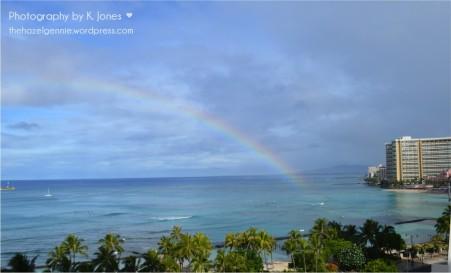 Waikiki Rainbow by K. Jones ♥