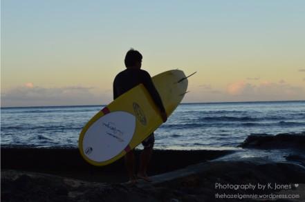 Waikiki Surfer by K. Jones ♥