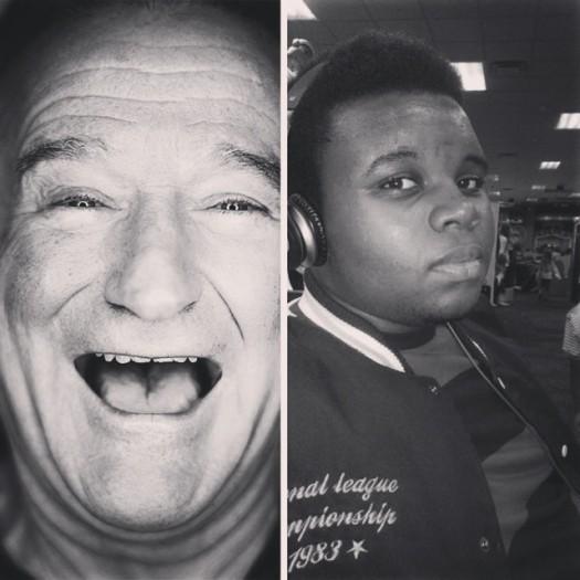 Robin Williams Mike Brown