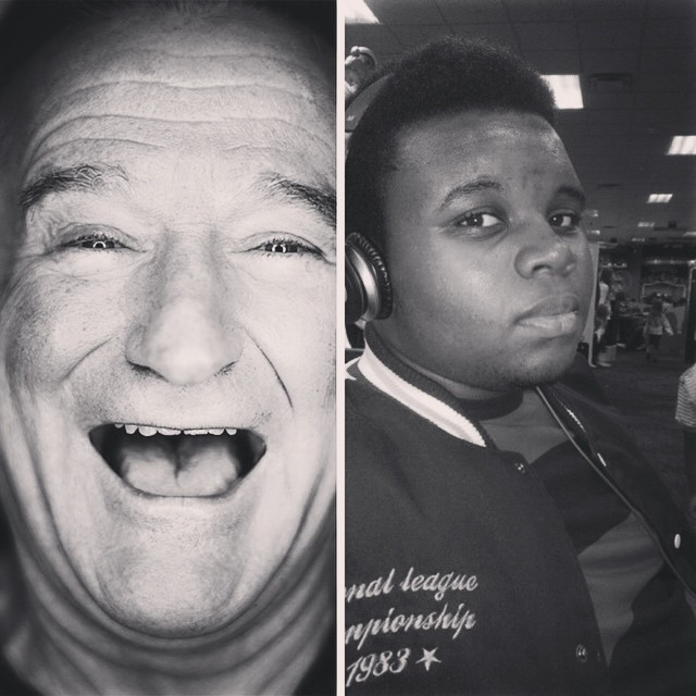 Robin Williams Mike Brown